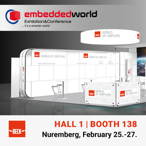 Visit us at embedded world 2020